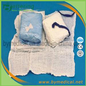 Sterile Abosrbent Blue Loop Cotton Laparotomy Sponges pictures & photos