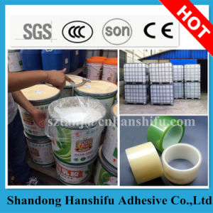 China High Quality 55% Solid Content Acrylic Water Based Glue for Tape pictures & photos