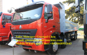 Sinotruk 12 Wheels HOWO A7 8X4 Dump Truck/ Tipper/ Dumper, 50-60 Tons, 336HP, Rhd/LHD with One Sleeper, Euro II pictures & photos