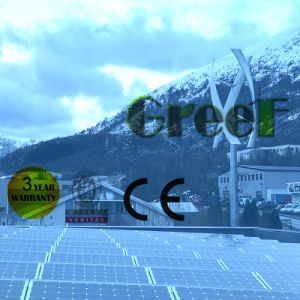 5kw Hybrid Solar Wind Power System for Home Use pictures & photos