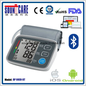 APP Support Wireless Arm Blood Pressure Monitor (BP 80EH-BT) with Large LCD pictures & photos