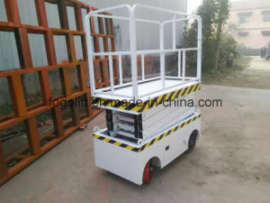 Trade Assurance Four Wheels Mini Mobile Scissor Platform Lift pictures & photos