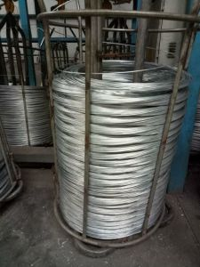 500kg/Coil 16 Gauge Hot Dipped Galvanized Steel Iron Wire pictures & photos