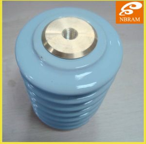 High Voltage Indoor Bus Suppport Porcelain Standoff Insulators