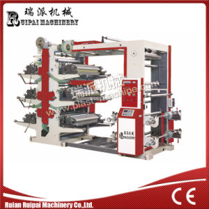 High Quality 6 Color Plastic Bag Making Machine pictures & photos