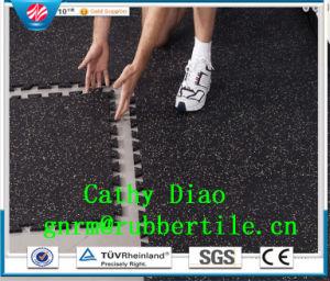 Interlocking Gym Floors Anti-Slip Rubber Floor Tiles Interlocking Gym Floors Sports Rubber Flooring Direct Manufacture pictures & photos