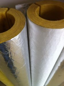Cold Insulation Glass Wool Pipe pictures & photos