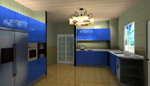 Stainless Steel Kitchen (MK-022)