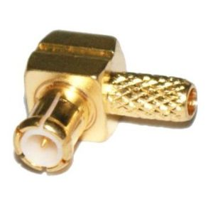 RF MCX R/a Male Coaxial Connector