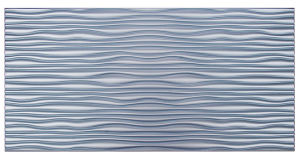 Blue FRP Tile Look 3D Waterproof Wall Panel pictures & photos