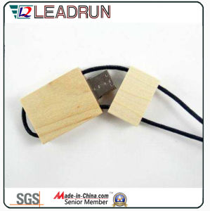 Wooden Bamboo USB Flash Stick Memory Drive Key Disk Box (YLH201) pictures & photos