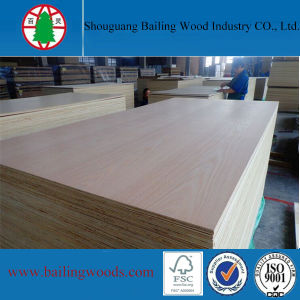 Commercial Wood Veneer Plywood for Furniture Use