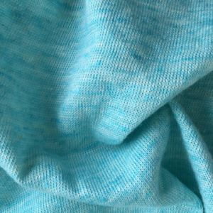 Linen Cotton Knitted T-Shirt Fabric (QF15-2063) pictures & photos