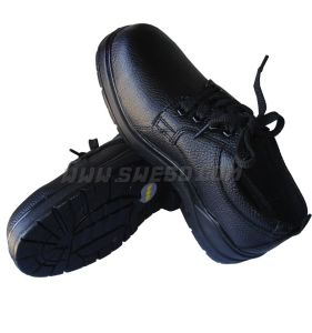 Black ESD Antistatic Safety Shoes for Work Place pictures & photos