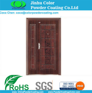 Wood Effect Powder Coating for Doors pictures & photos