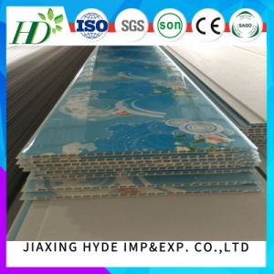 8*250mm 2.8 Kgs PVC Panel Ceiling Panel Decoration Wall Panel (normal printing, hot stamping, lamination, ISO9001) pictures & photos