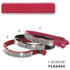 Beatiful Girl Cat Collars with Elastic Band (YL82444) pictures & photos