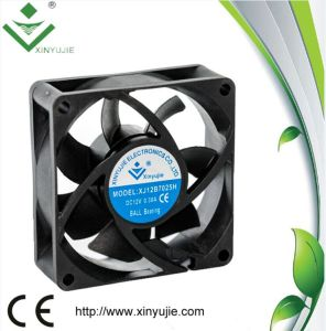 12V 70mm Low Watt Axial DC Fan 70X70X25mm High Performance pictures & photos