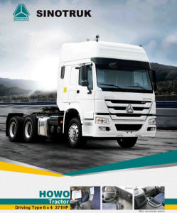 Best Price HOWO Tractor Truck with Man Technology 6*4 pictures & photos