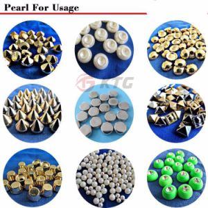 Pearl Setting Machine Fixing Pearls on Jeans Sewing Machine ABS Pearl pictures & photos