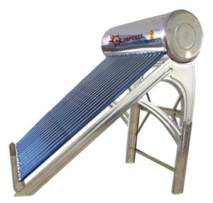 300L Vacuum Tube China Solar Energy Water Heater pictures & photos