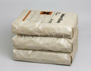 Customized Size Kraft Paper Laminated PP Woven Cement Valve Bag