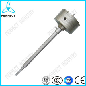 Sand Blasting Electric Hollow Hammer Core Drill Bit pictures & photos