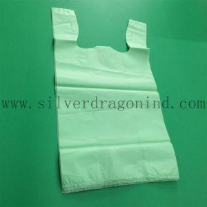 Compostable 60X40cm Cornstarch Plastic Carrier Bio Based Bag pictures & photos