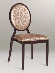 High Quality Imitation Wood Hotel Banquet Chair (S838)