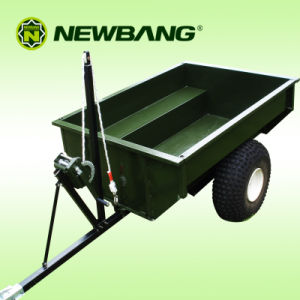 ATV Trailer with Manual Tip Winch 2 Wheels Kd-T17b pictures & photos