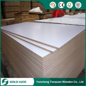 Red White Laminated MDF Board pictures & photos