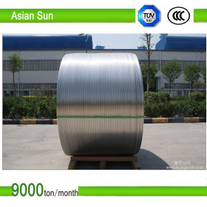 High Quality Magnet Bare Flat Aluminum Electrical Wire Rod pictures & photos