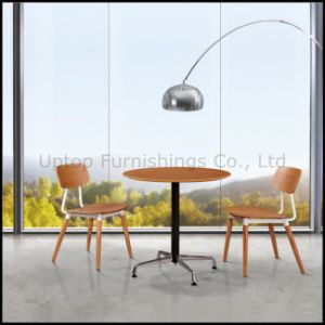 Modern Coffee Shop Cafe Wood Table and Chair (SP-CT523) pictures & photos