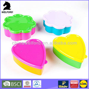 New Custom High Quality Plastic Lunch Box
