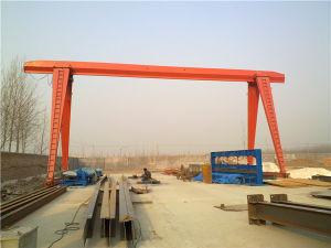 10 Ton Single Girder Gantry Crane Mh Model pictures & photos