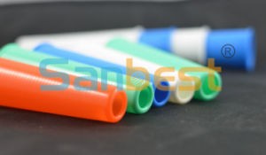 Regular 4 Inch Plastic Cones for Sewing Thread pictures & photos
