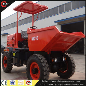 Good Quality! China 1t 4X4 Diesel Mini Site Dumper with Loader pictures & photos