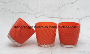 Hot Sale Glass Craft Candle Holder/Decoration Cup pictures & photos