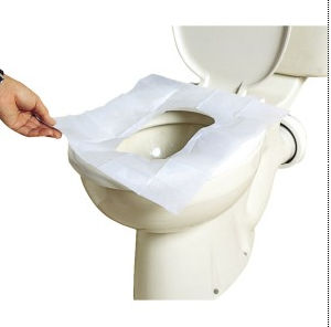 Toilet Seat Cover, 1/2fold, 250PCS/Pack, Use in Public Toilets pictures & photos