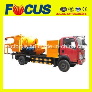 Concrete Mixer Pump on Truck pictures & photos