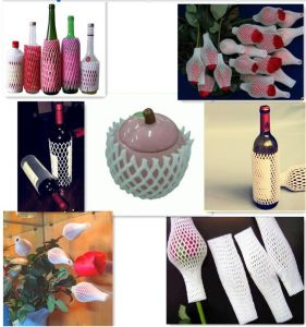 Factory Directly EPE Foam Liquid Glass Wine Bottle Packaging Protection Net pictures & photos
