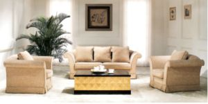 Hotel Furniture/Hotel Sofa/Hotel Living Room Sofa/Apartment Sofa/Canteen Sofa/Hospitality Sofa (GL-011) pictures & photos