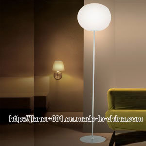 Modern Glass Floor Lamp / Reading Stading Lamp for Hall (F-7603-1) pictures & photos