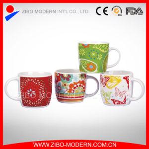 Custom Ceramic Porcelain Coffee Mug with Printing (GP1006) pictures & photos