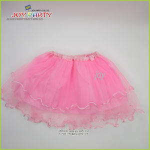 Pink Organza Party Skirt Tutu Ballet Skirt pictures & photos