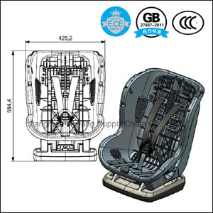HDPE Frame Baby Safety Car Seat with ECE8 / 3c / GB Certification - Free Sample pictures & photos