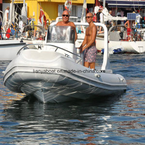 Liya 5.8m Inflatable Rib Boats for Sale Hypalon Boat pictures & photos