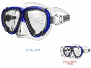 High Quality Diving Masks with Myopic Lens (OPT-503) pictures & photos