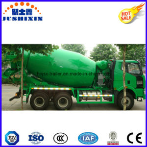 FAW Brand 6cbm 8cbm 10cbm Cement Mixer Truck pictures & photos