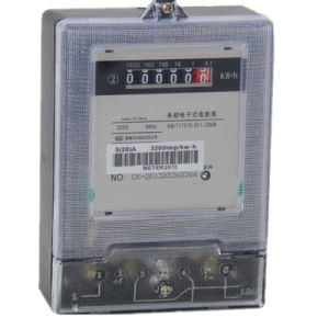 RS485 LCD/LED Display Single Phase Energy Meter pictures & photos